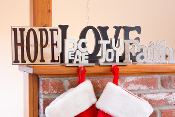 Hope, Love, Peace, Joy, and Faith