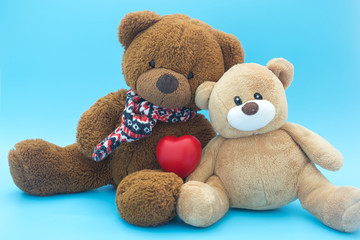 Valentines Day,Teddy bear with heart