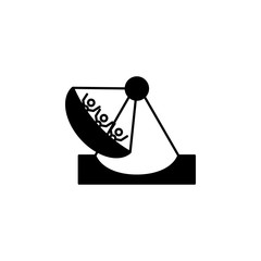 Amusement park, Viking boat ride icon. Simple glyph vector of Amusement set for UI and UX, website or mobile application