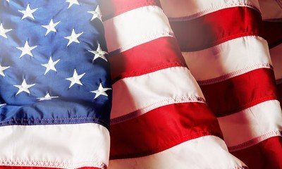 American flag background for edit your design