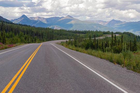 Tok Cutoff Highway, Alaska