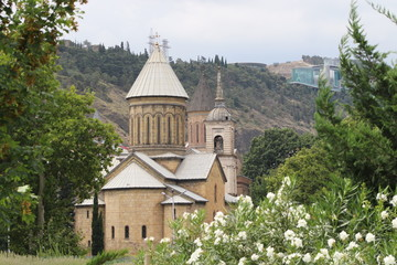 Cathedral church Sioni in Tbilisi city