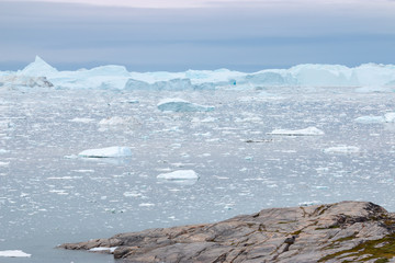 Deurstickers Arctica Diskobucht Grönland