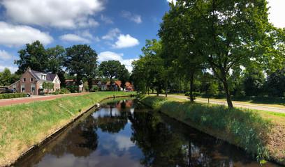 Canal in Oosterwolde