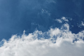 Photo of the sky with clouds