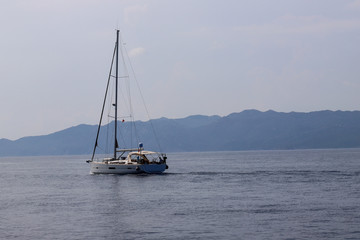 Yachting and blue tour with Yacht