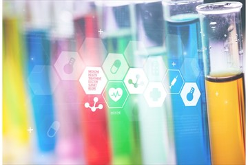 Science background cbd chemical chemistry copy space