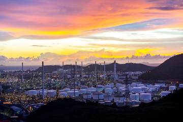 Oil and gas refinery industry Factory