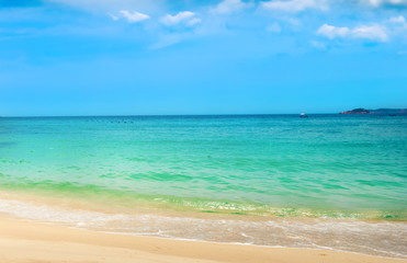 White sand beach. Vietnam