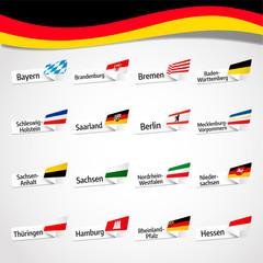 Flaggen der deutschen Bundesländer