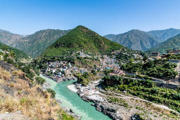devprayag river merging
