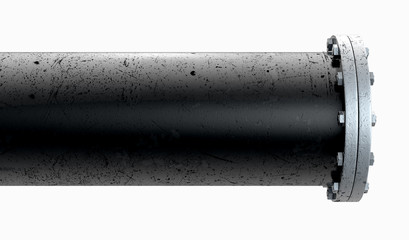 PVC Pipe Section