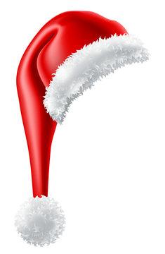 A Santa Claus Christmas hat cartoon design element graphic