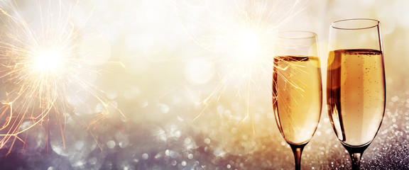 Champagne for a happy new year