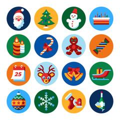 Digital vector merry christmas and winter holidays