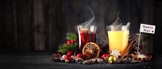 leckere Heißgetränke zum Fest