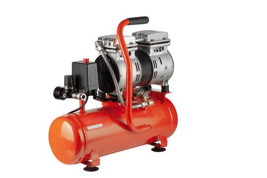 orange air compressor