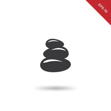 Zen stones vector icon