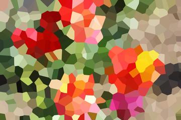 Color illustration. background