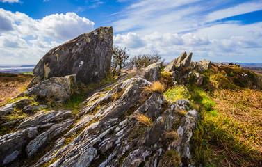 Roc'h Trevezel summit of Brittany