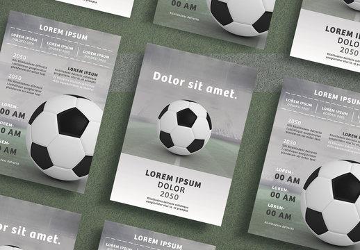 Soccer Flyer Layout