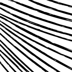 Vector background with hand drawn brush lines.