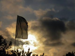 Festival Sunset Flag
