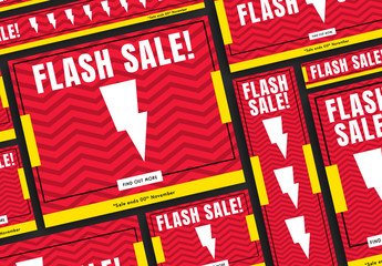 Flash Sale Web Banners Set