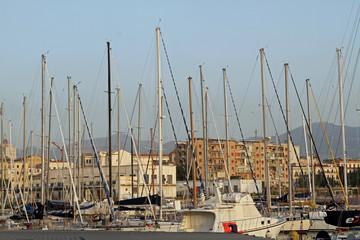 Sicily - Palermo port and sea