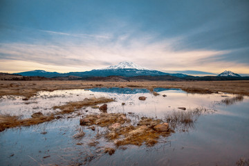 Mount Shasta   Reflections on the Water