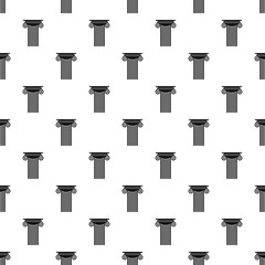 Reinforced concrete column pattern seamless vector repeat geometric for any web design