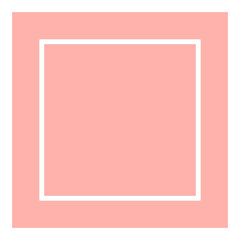 pink with white square line for background