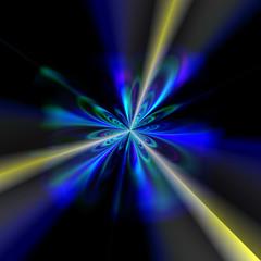 star birth singularity explosion light