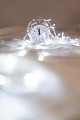 Reloj minutos antes de las doce