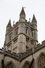 Bath Cathedral towering