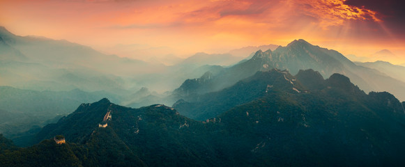 Photo sur Toile Chine Great wall of China