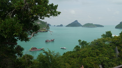 View of islands in Thailand 2