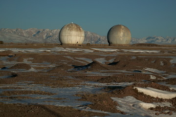 former military base of the USSR in Kyrgyzstan