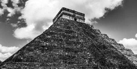 Piramide de Kukucan, vista lateral