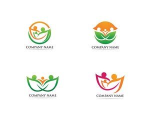 Family care logo and symbol