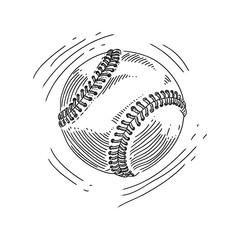 Baseball Drawing