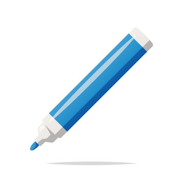 Marker pen vector isolated