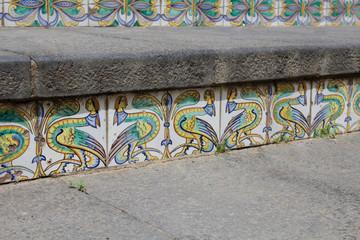 Maioliche siciliane vector: maiolica photos royalty free images