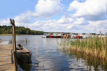 Rheinsberg, Marina, Mark Brandenburg, Germany