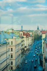 Vue de Prague depuis la Maison dansante