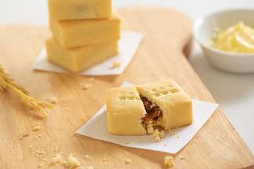 Pineapple Cheese Tart.
