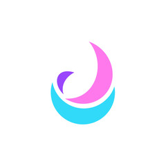 Letter J logo. Icon design. Template elements - vector sign