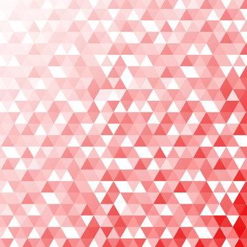 トライアングル背景 赤