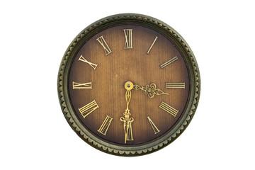Vintage wooden clock