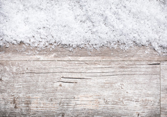 Holiday: Snowy Winter Background For Text Overlay